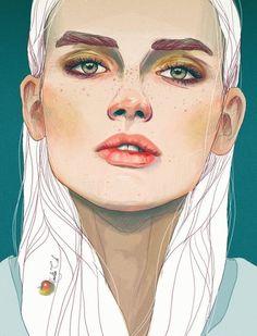 'Darya' by Nadiia Cherkasova