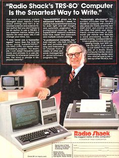 Isaac Asimov endorses the new TRS-80.
