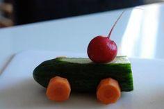kreatives Obst und Gemüse für Kinder | Rezepte von und für Kids Forum | Chefkoch.de