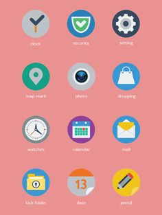 30+ Free Flat UI Icon Sets - Blog of Francesco Mugnai