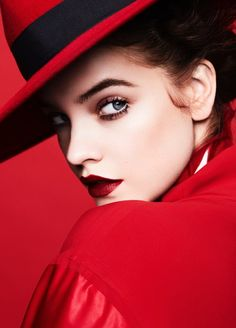Barbara Palvin Charms in Colorful Makeup Looks for Fashion Unfiltered