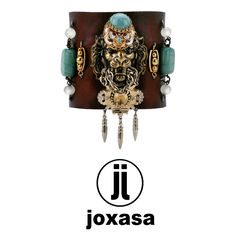 Joxasa leather cuff www.joxasa.com