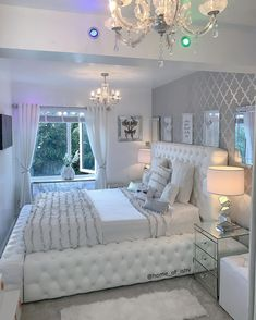 Girl Bedroom Designs, Room Ideas Bedroom, Home Decor Bedroom, Aesthetic Room Decor, Stylish Bedroom, Cozy Room, Dream Rooms, Luxurious Bedrooms, My New Room