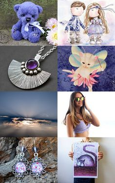 Purple Trends  by Gilberto Vavalà on Etsy--Pinned with TreasuryPin.com