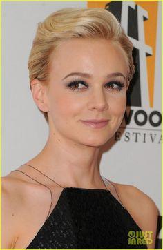 Carey Mulligan -- great makeup