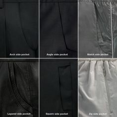 The detail of pockets of collection Ader Error, Leather Pants, Street Wear, Fashion Design, Fashion Brand, Instagram, How To Wear, Collection, Pocket Detail