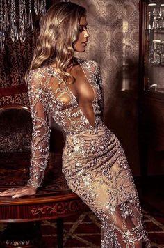 Sexy Outfits, Dress Outfits, Fashion Dresses, Sequin Dress, Bodycon Dress, Elegant Woman, Vogue Paris, Fasion, Paris Fashion