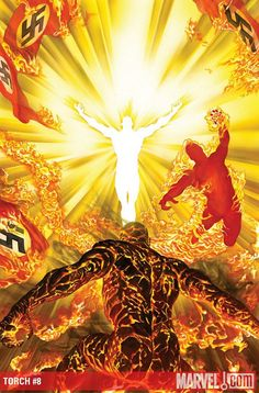 The Torch #8, by Alex Ross.