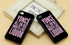 yonce Like LiQUor  FIT for iP4iP5 Samsung by CasebyMarsha on Etsy, $14.00