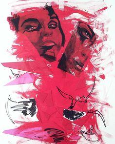 """156 Beğenme, 2 Yorum - Instagram'da ORHUN RÜZGAR ÖZ (@orhunruzgarozartist): """"#artpeoplegallery #dubai #sanat #painting #ankara #istanbulmodern #galerie #istanbul #artsxdesign…"""""""