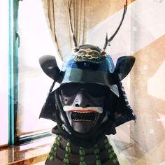 Replica Zunari Kabuto from Japanese-armor.com (chinese made) and a modern Mempo handmade from a Japanese armourer at 24 Shogoin Entomi-cho, Sakyo-Ku, Kyoto City.(Japanese Made)