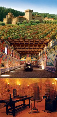 Calistoga, California' 12 Stunning Vineyards To Visit by TheCultureTrip.com, click on the image to get the full list.  Photo courtesy of Touring and Tasting