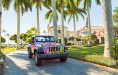 Lilly Pulitzer Jeep in All Nighter Print.
