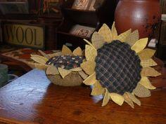 Sunflower pincushion