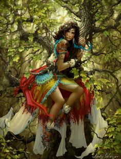 use your illusion. Fantasy Girl, Chica Fantasy, 3d Fantasy, Fantasy Warrior, Fantasy Women, Gypsy Warrior, Warrior Girl, Warrior Women, Fantasy Trees