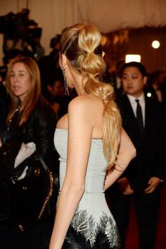 HOW TO: Blake Lively's Triple Ponytail By Rod Ortega | Modern Salon