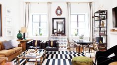 We present you today the Best interior design projects by Nate Berkus. Nate Berkus is an American interior designer, author, TV host and television personality. Nate Berkus, Eclectic Living Room, Living Room Designs, Living Spaces, Living Rooms, Living Room Furniture, Home Furniture, Living Room Decor, Furniture Design