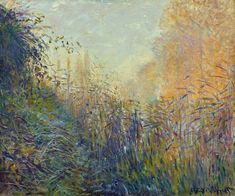 Claude Monet (1840-1926) Study of Rushes, Argenteuil (1876) oil on canvas 54 x 65 cm