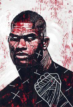 Conheça Gian Galang, o artista que transforma astros do UFC em incríveis ilustrações (Foto: Alistair Overeem/UFC)