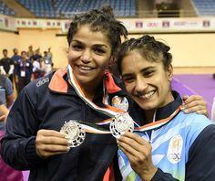 Sakshi settles for silver at Asian Championships