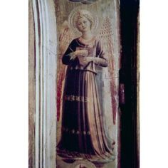 Angel with The Book of Psalms Fra Angelico (1387-1455 Italian) Canvas Art - Fra Angelico (18 x 24)