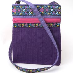 Sewing Project Gallery - Renaissance Ribbons Purple Bags, Silk Fabric, Diaper Bag, Sewing Projects, Quilts, Quilting Ideas, Gallery, Ribbons, Renaissance