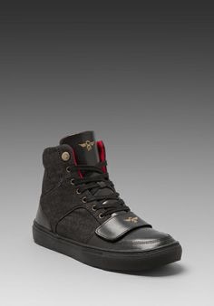 Cesario - Creative Rec #CR8REC #CREATIVERECREATION #SHOES #MENS #BLACK High Tops, High Top Sneakers, Walking, Creative, Men, Shoes, Black, Fashion, Moda