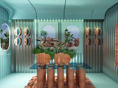 Our top picks for Milan Design Week: A full day of highlights - News - Frameweb Laura Wood, Patricia Urquiola, Santa Marta, Notes Design, Key Design, Tom Dixon, Japanese Door, Cristina Celestino, Modernisme