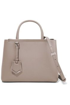 f6b33677331c Fendi - 2jours Small Leather Shopper - Beige
