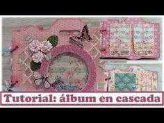 Tutorial: álbum cámara de fotos en cascada, en colaboración con La tienda de las manualidades - YouTube