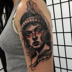 Tattoo by Tim Tavaria