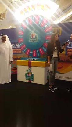 We are live at #AlGhurairCentre for the #EidinDubai draw. Good luck winners! #femalegears.com #random #lovethese #shopping #women #female