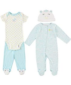 Carter`s Baby Girls` 4-Piece Set for only $12.59