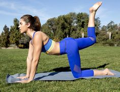 Want a that bubble-butt bounce? Do this 15-minute workout consistently and it's possible.