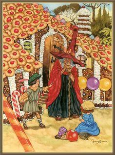 Delicious house - Hansel & Gretel