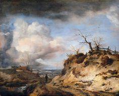 Вауэрман, Филипс (1619-1668) - Дорога в дюнах. Часть 4
