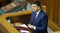 Histórico: Ucrania nombra un primer ministro judío