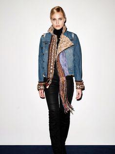 B.209 Military Jacket, Punk, Denim, Jackets, Style, Fashion, Down Jackets, Swag, Moda