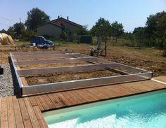 Cómo construir una cubierta móvil para la piscina- procedimiento