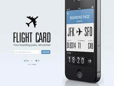 Flight Card by Jonatan Castro