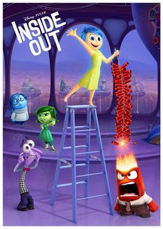 """Disney's """"Inside Out"""" poster"""