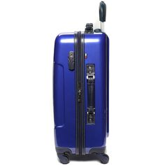 "The Tommy Hilfiger Lochwood series is a durable composite Polycarbonate hardsided luggage. Complete with the Signature Tommy Stripe down the center,  Spinner wheels and has a fully lined interior. Material: Polycarbonate Composite  Size: 21"" x 14"" x 7.5"" Linear: 42.5"" Weight: 6.7 lbs. Carry On: Yes Expandable: No Warranty: 10 Year Warranty Product Features:  Polycarbonate Composite shell protected by a layer of clear coat paint that gives it a high gloss is extremely ligh..."