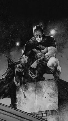 I Can't Stop Thinking About Comics! — Batman by Olivier Coipel Batman Artwork, Batman Wallpaper, Batman Comic Art, Batman And Batgirl, Im Batman, Batman Robin, Gotham Batman, Batman Suit, Character Drawing