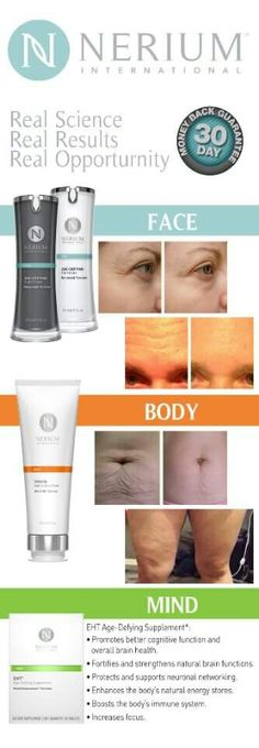 I can share before and afters all day. What I would really like to do is show you yours!! Are.you ready to change your life? ? www.marangeline24.nerium.com