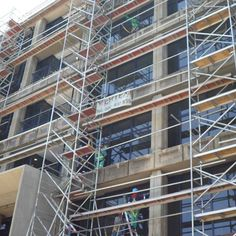 Stairway-Tower  Vertex Scaffolding  Nationwide!  0861 837 839  marketing@vertexsa.co.za For the past 9 years Vertex Scaffolding has been offering an array of customers with a complete solution to work at height.   We offer the following products for hire and sale: Kwikstage Scaffolding Self Lock Scaffolding Aluminium Stairway Towers Aluminium Span Towers Bridging Platforms Ladders Trolleys  Safety Equipment