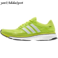 new product 08041 b2ef6 Zapatillas Running Adidas Energy Boost 2 para Hombre Solar Limo Blanco Negro  Baratos Online