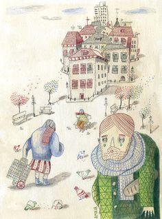 Madriz Magazine - amaia arrazola illustration
