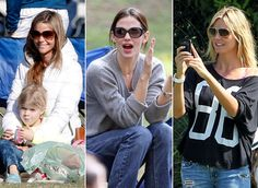 Celebrity Soccer Moms: Hollywood's Hottest Stars Cheer From the Sidelines | baby-cambridge.com