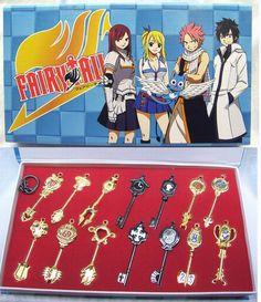 Fairy Tail Keychain Set FLKY7123