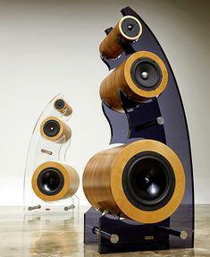 High end audio audiophile speakers(Diy Tech) Audiophile Speakers, Hifi Audio, Stereo Speakers, Car Audio, Speaker Amplifier, High End Speakers, High End Audio, Speaker Box Design, Speaker Plans